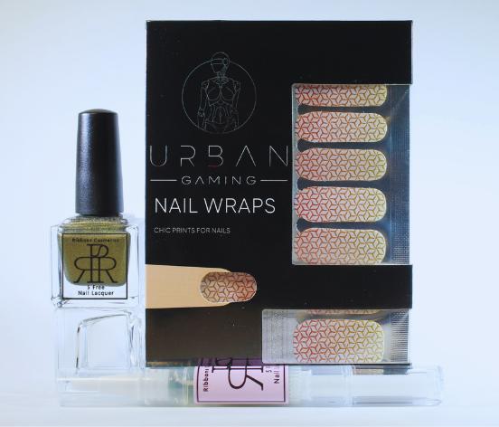 smaller nail wraps